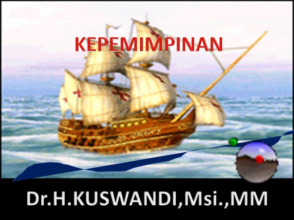 KEPEMIMPINAN Dr.H.KUSWANDI,Msi.,MM