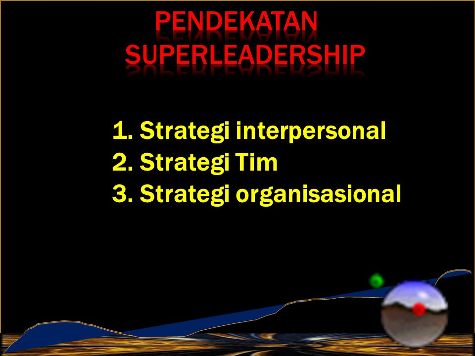 Pendekatan SuperLeadership
