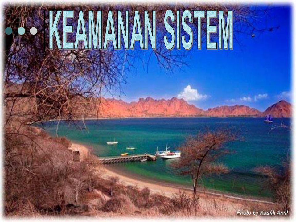KEAMANAN SISTEM