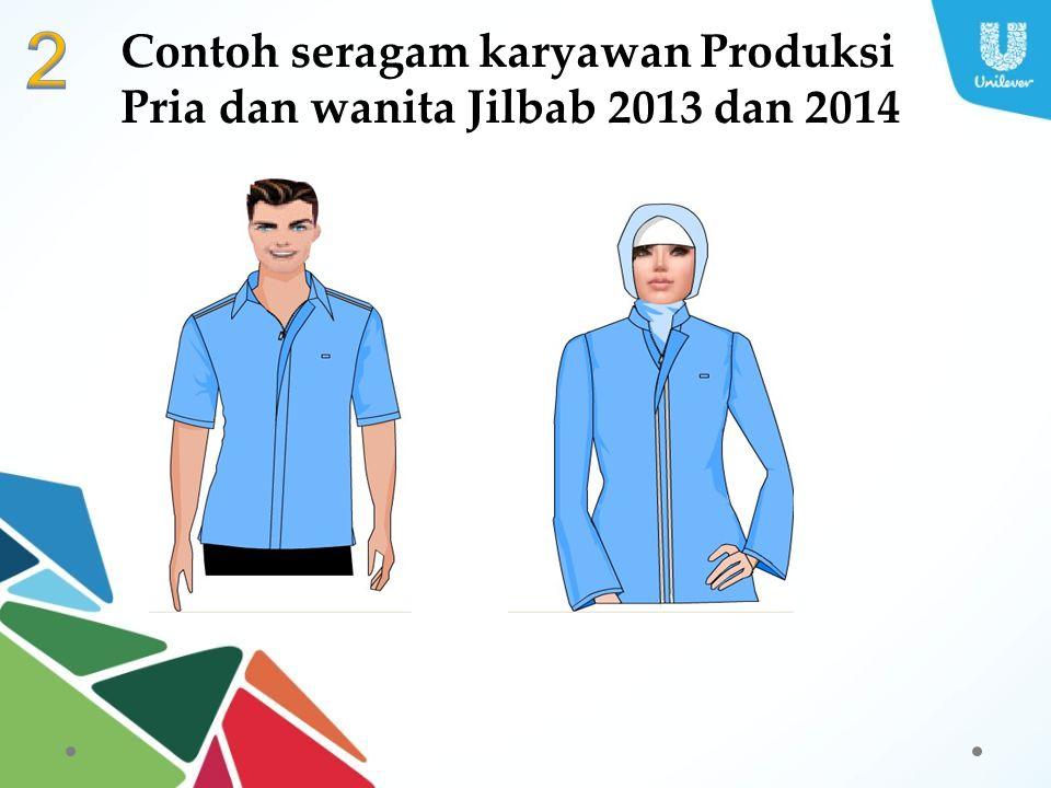 2 Contoh seragam karyawan Produksi