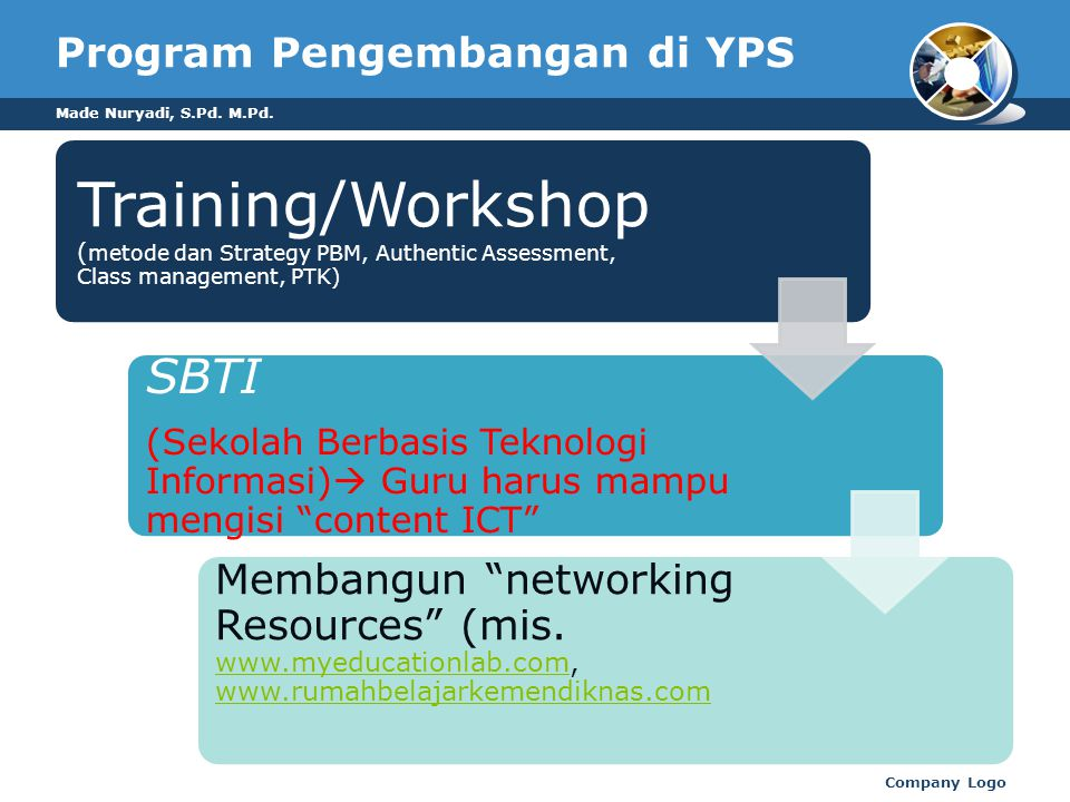 Program Pengembangan di YPS