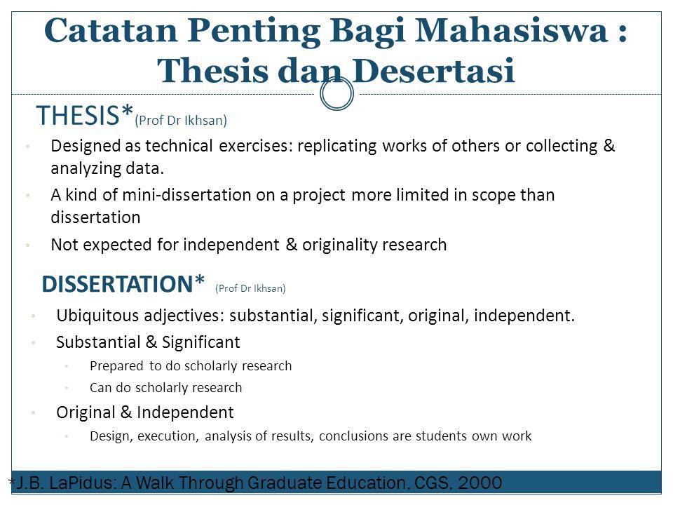 THESIS*(Prof Dr Ikhsan)