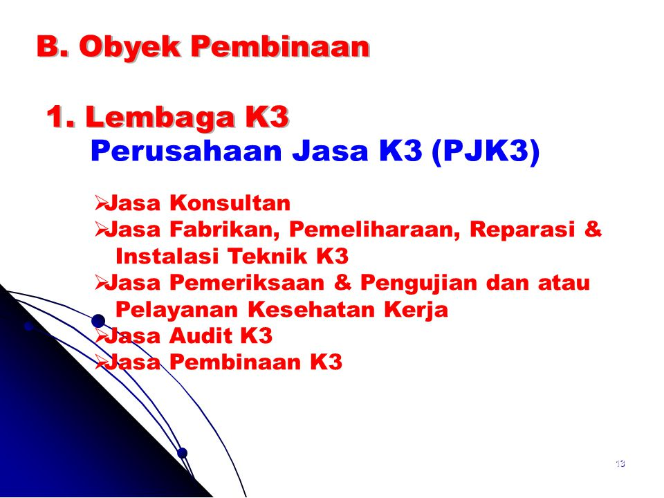 Perusahaan Jasa K3 (PJK3)