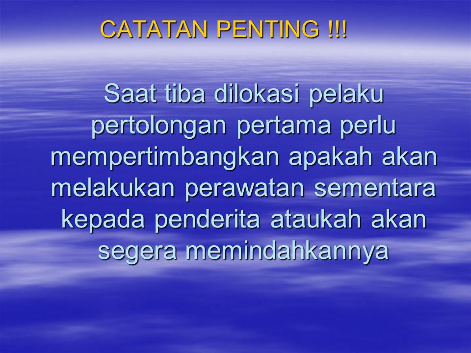 CATATAN PENTING !!!