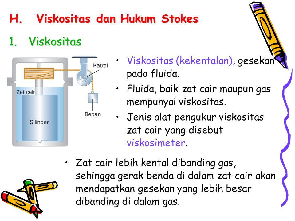 Viskositas dan Hukum Stokes
