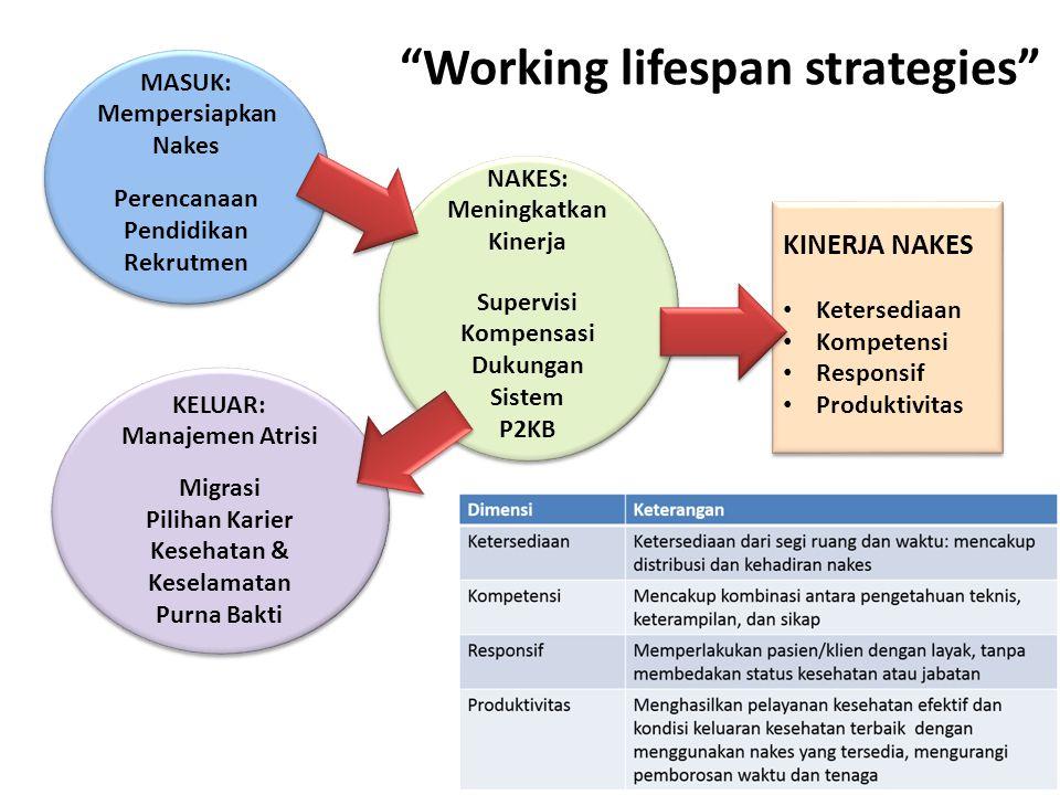 Working lifespan strategies