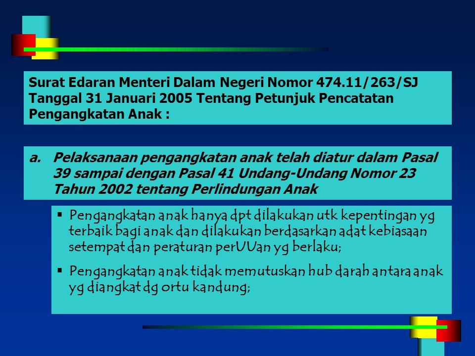 Surat Edaran Menteri Dalam Negeri Nomor 474