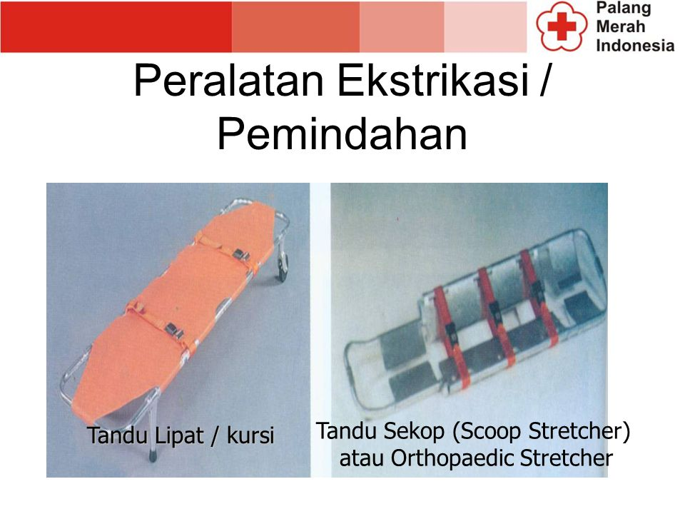 Peralatan Ekstrikasi / Pemindahan