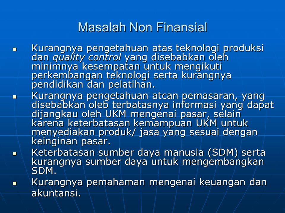 Masalah Non Finansial