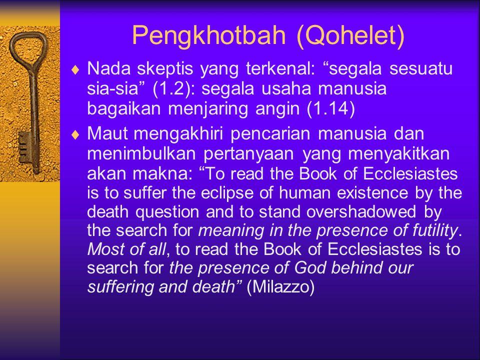 Pengkhotbah (Qohelet)