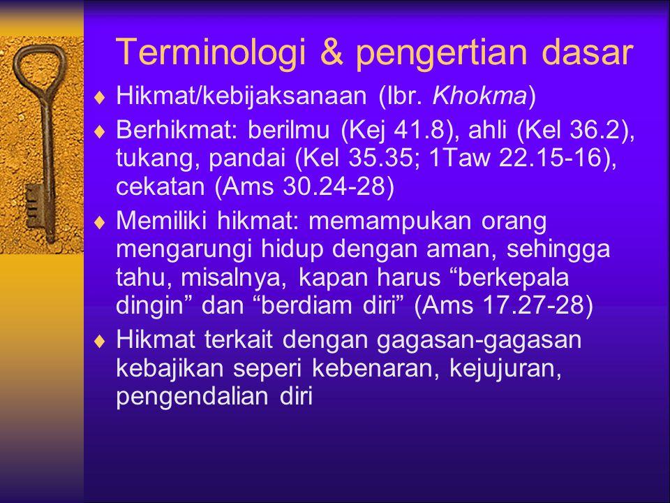 Terminologi & pengertian dasar