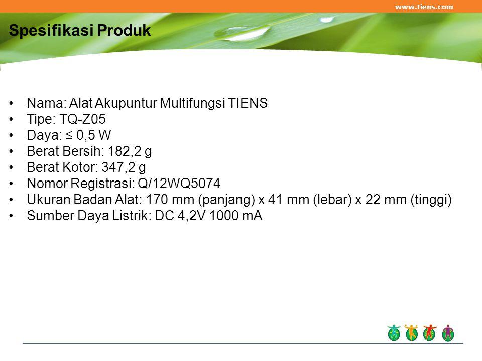 Spesifikasi Produk Nama: Alat Akupuntur Multifungsi TIENS Tipe: TQ-Z05