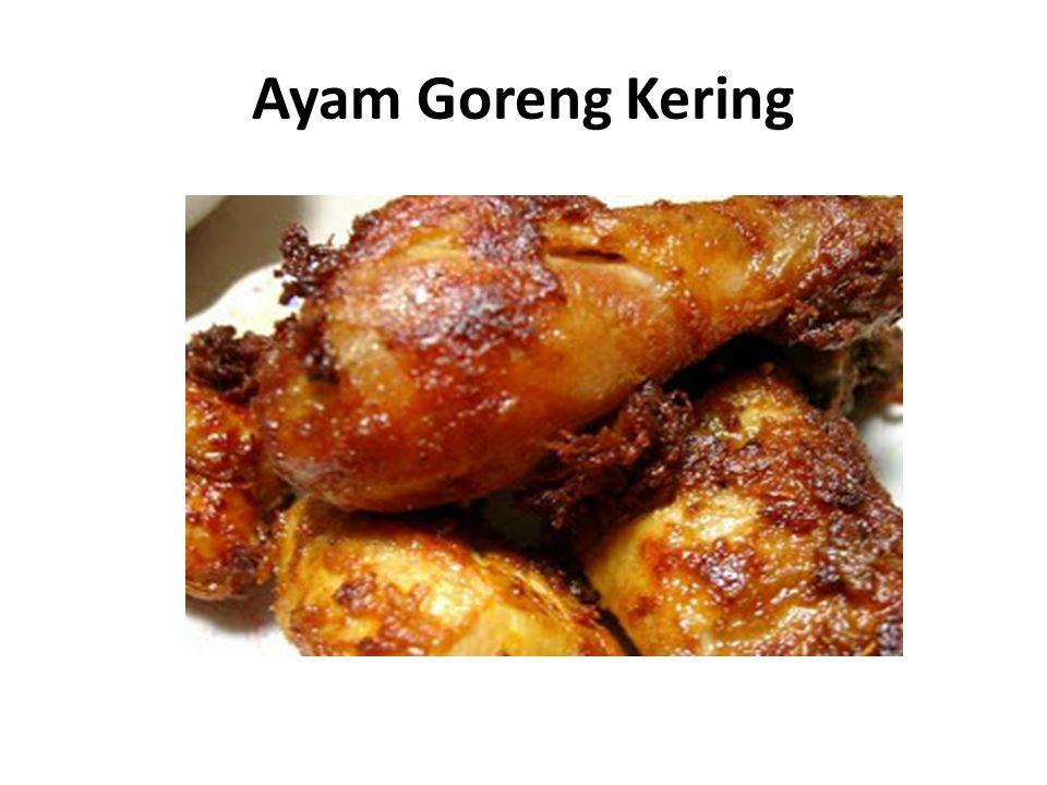 Ayam Goreng Kering