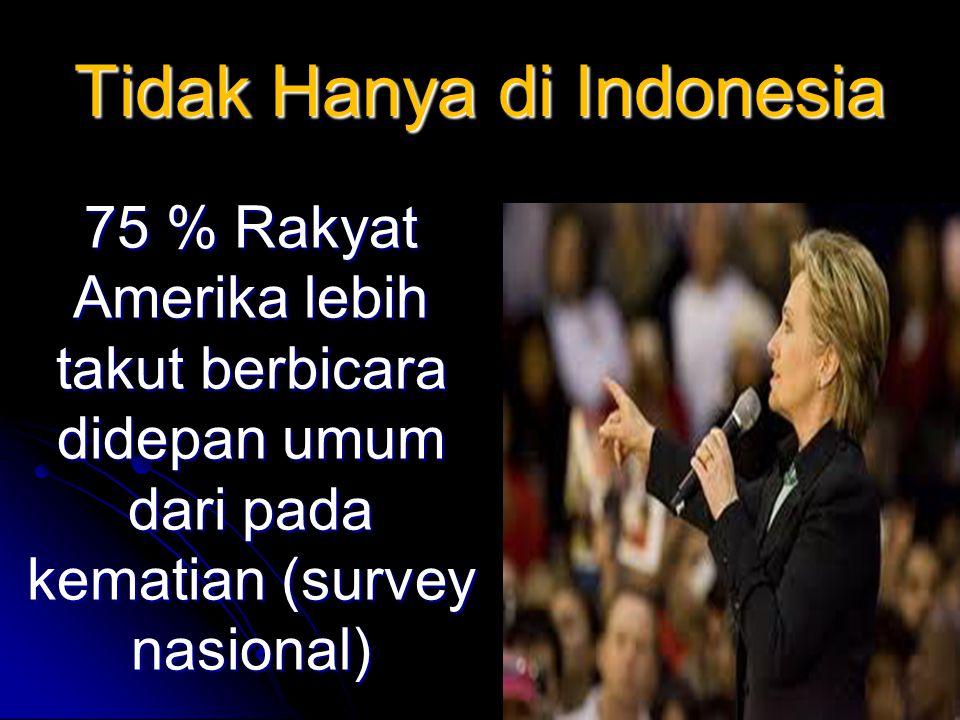 Tidak Hanya di Indonesia