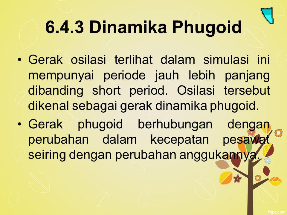 6.4.3 Dinamika Phugoid