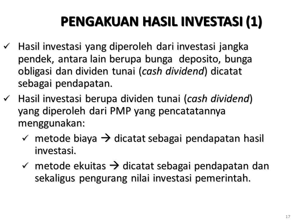 PENGAKUAN HASIL INVESTASI (1)