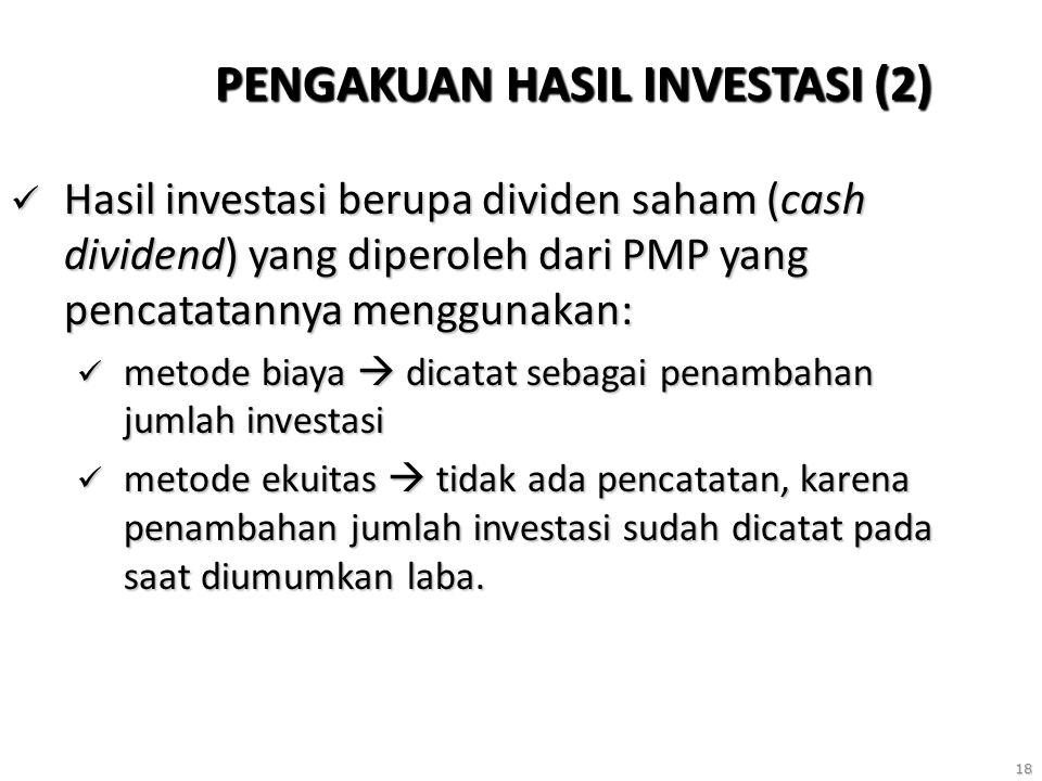PENGAKUAN HASIL INVESTASI (2)