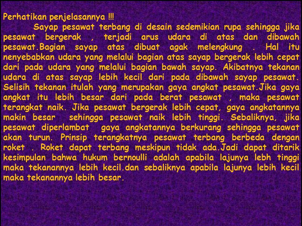 Perhatikan penjelasannya !!!