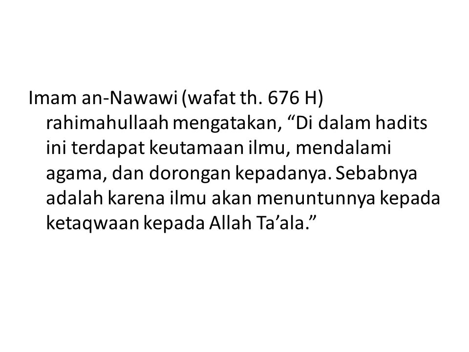 Imam an-Nawawi (wafat th