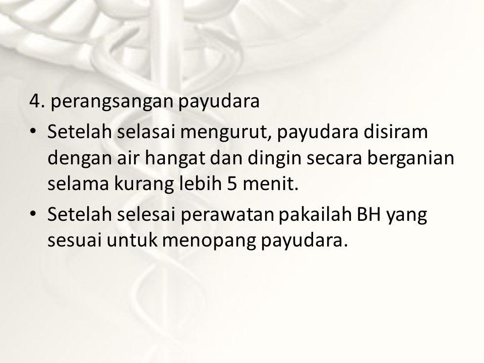 4. perangsangan payudara