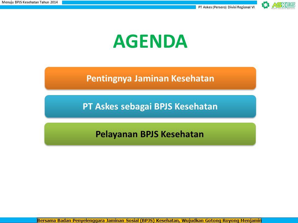 AGENDA Pentingnya Jaminan Kesehatan PT Askes sebagai BPJS Kesehatan