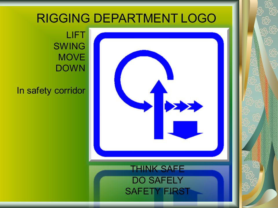 RIGGING DEPARTMENT LOGO