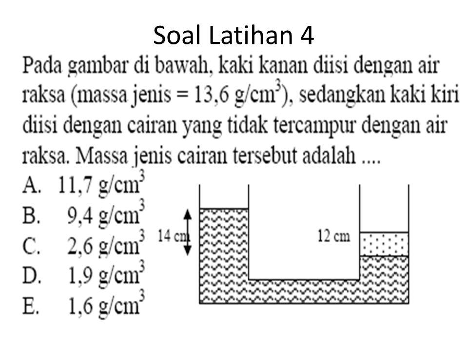 Soal Latihan 4