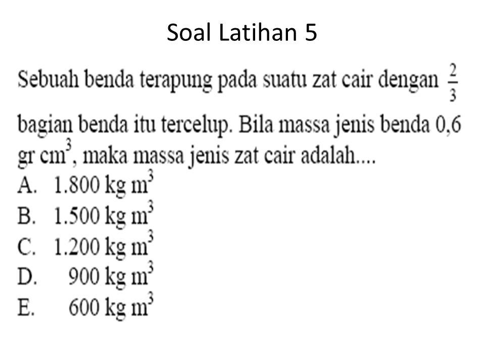 Soal Latihan 5