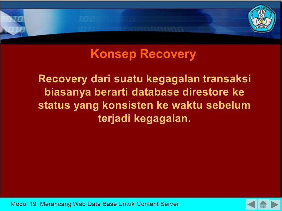 KK-19 Konsep Recovery.