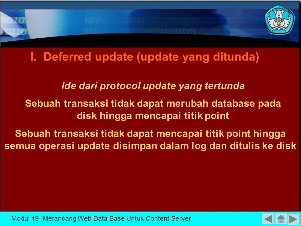 Ide dari protocol update yang tertunda