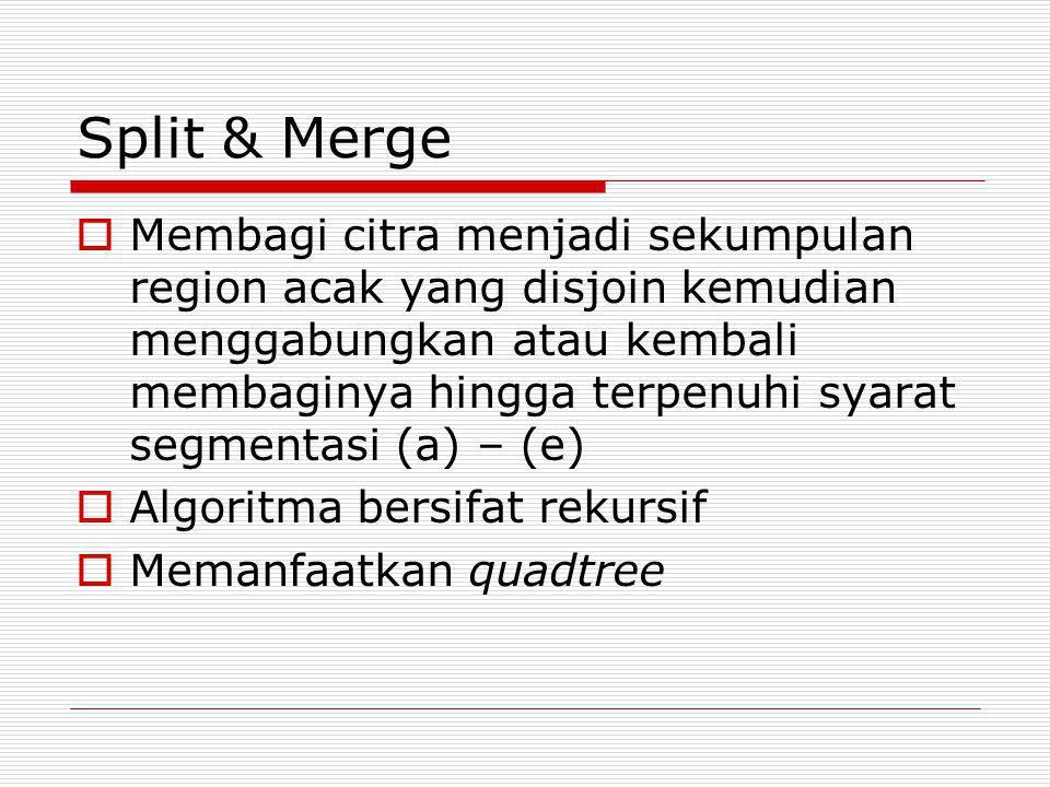 Split & Merge