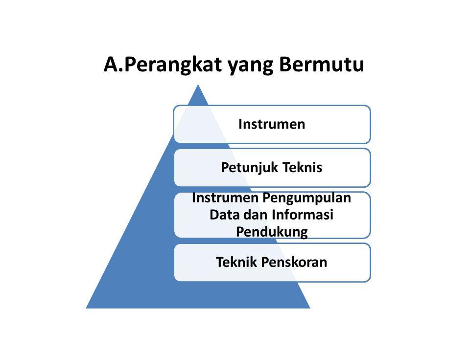 A.Perangkat yang Bermutu