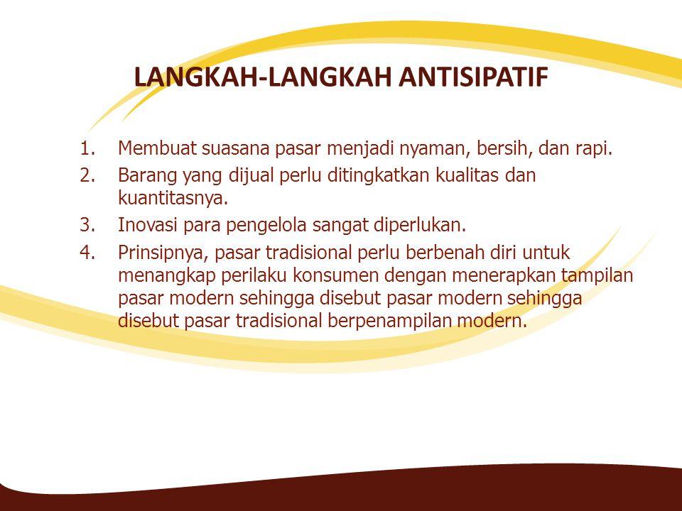 LANGKAH-LANGKAH ANTISIPATIF