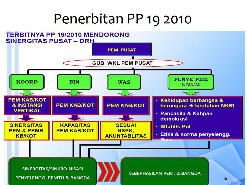 Penerbitan PP 19 2010