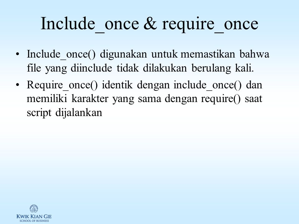 Include_once & require_once