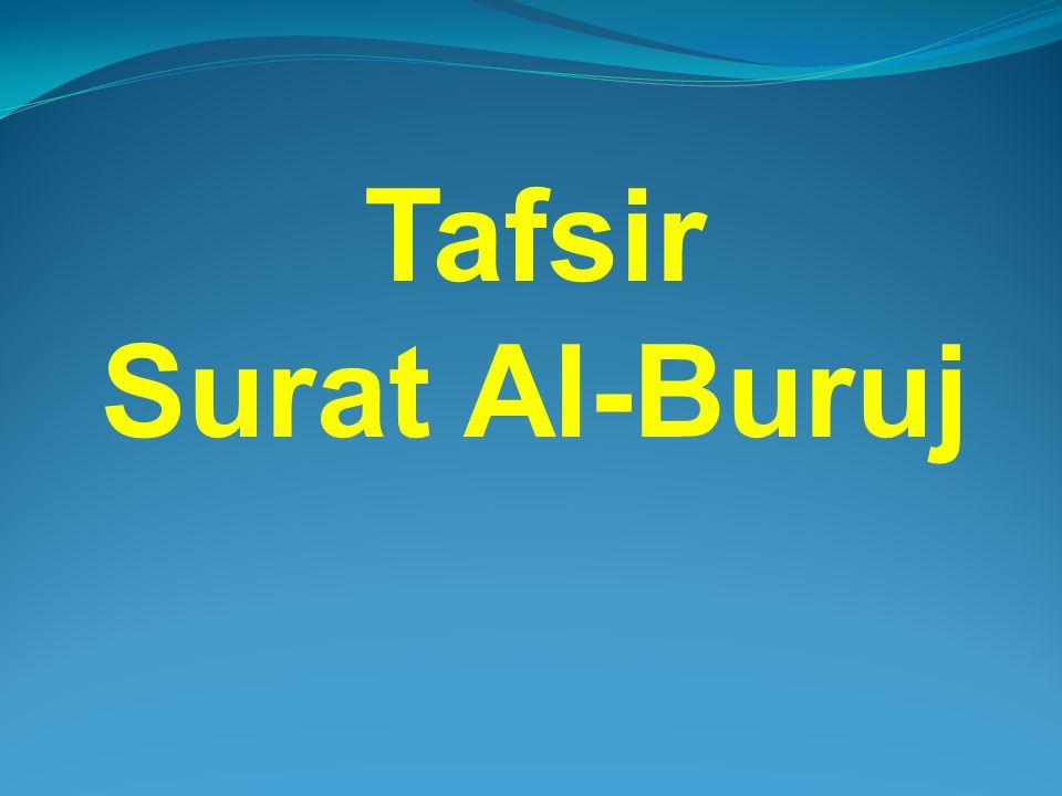 Tafsir Surat Al-Buruj