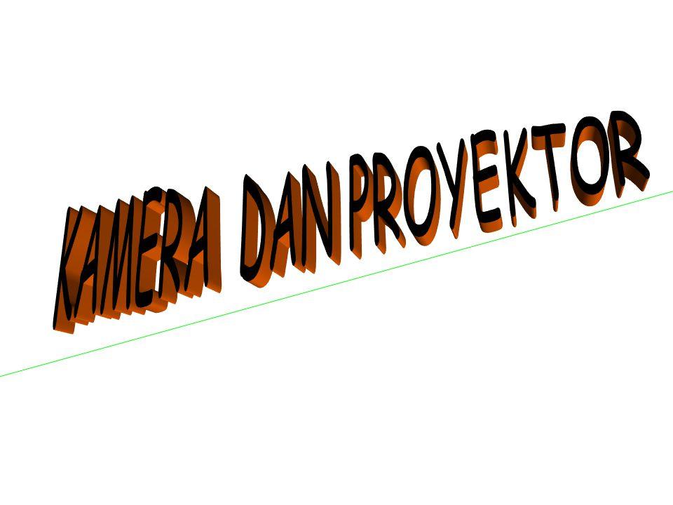 KAMERA DAN PROYEKTOR