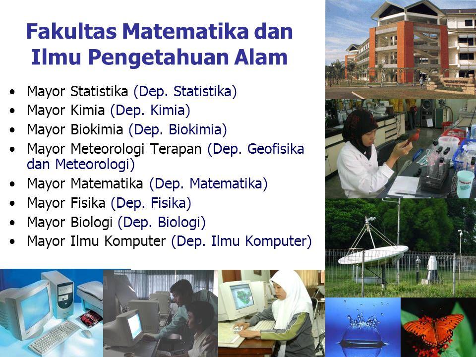 Fakultas Matematika dan Ilmu Pengetahuan Alam