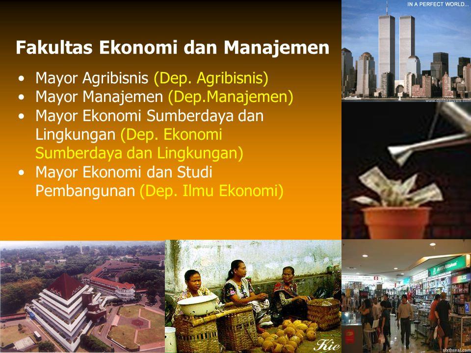 Fakultas Ekonomi dan Manajemen