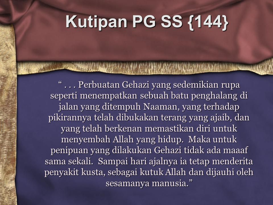 Kutipan PG SS {144}