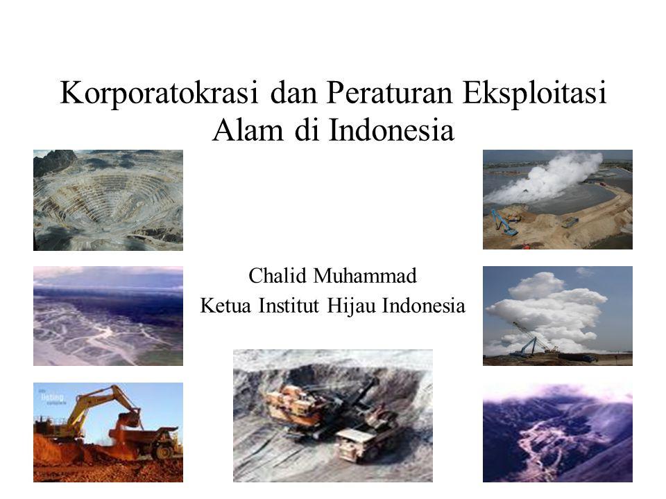 Korporatokrasi dan Peraturan Eksploitasi Alam di Indonesia