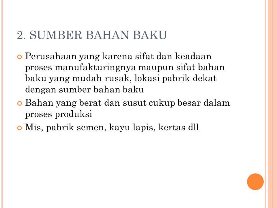 2. SUMBER BAHAN BAKU