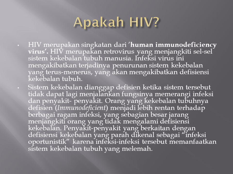 Apakah HIV