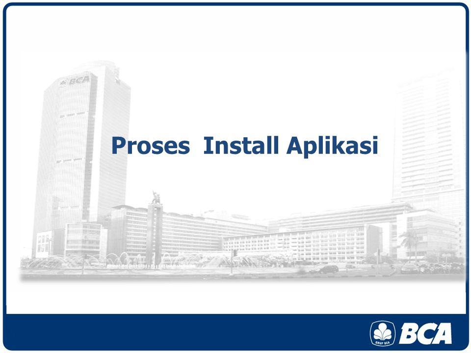 Proses Install Aplikasi