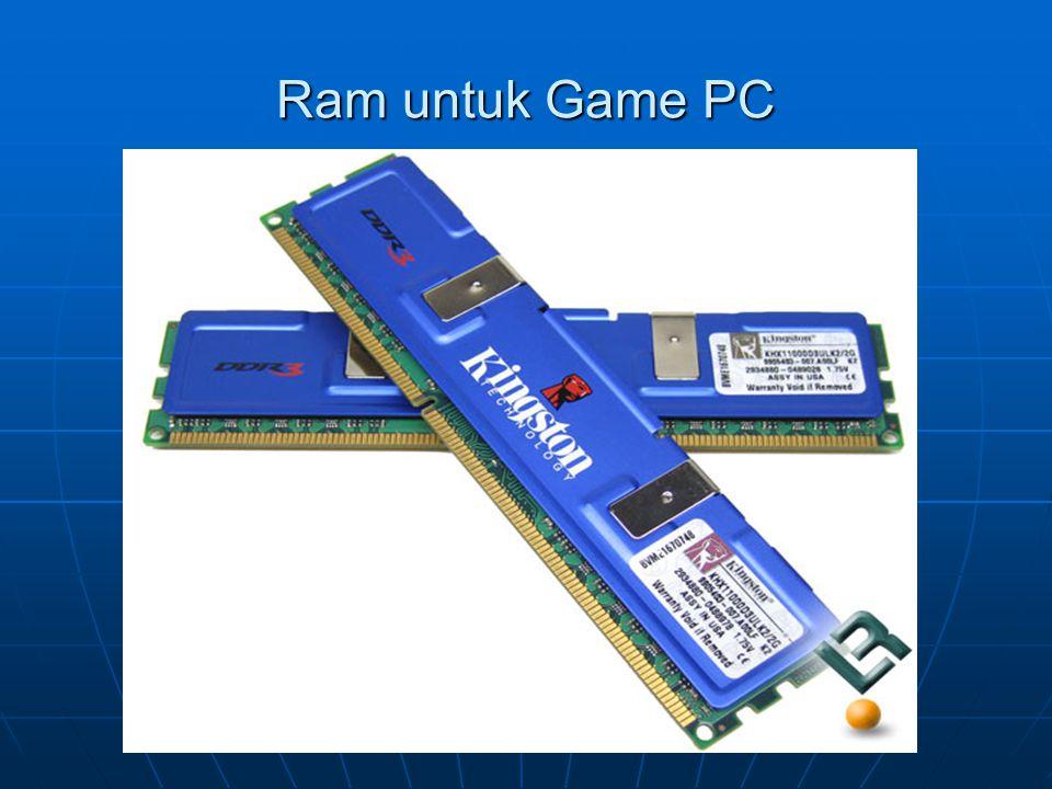 Ram untuk Game PC