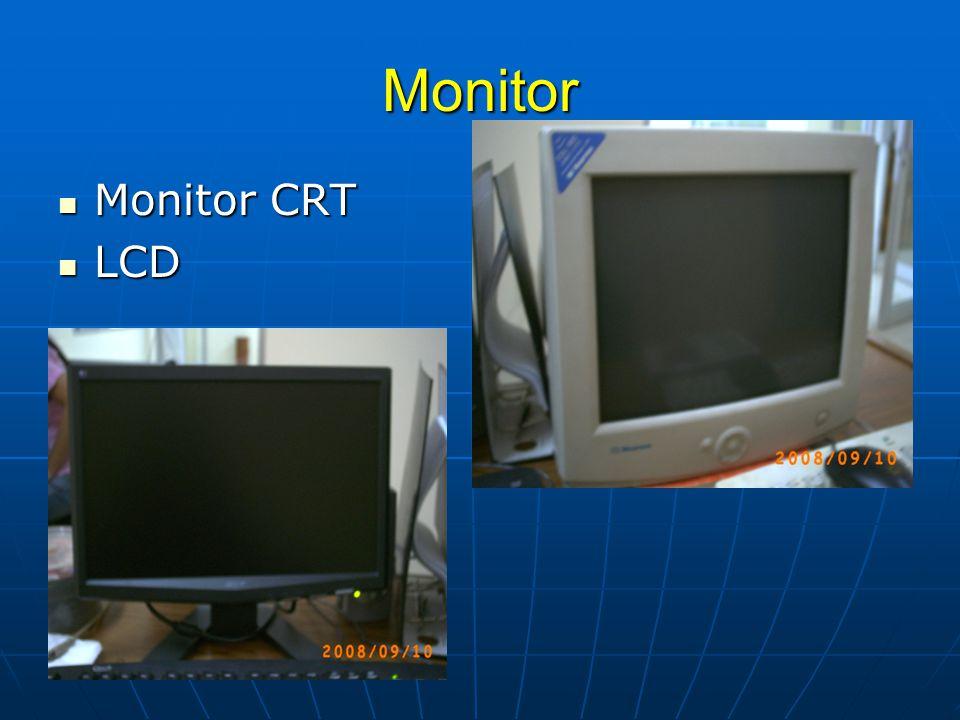 Monitor Monitor CRT LCD
