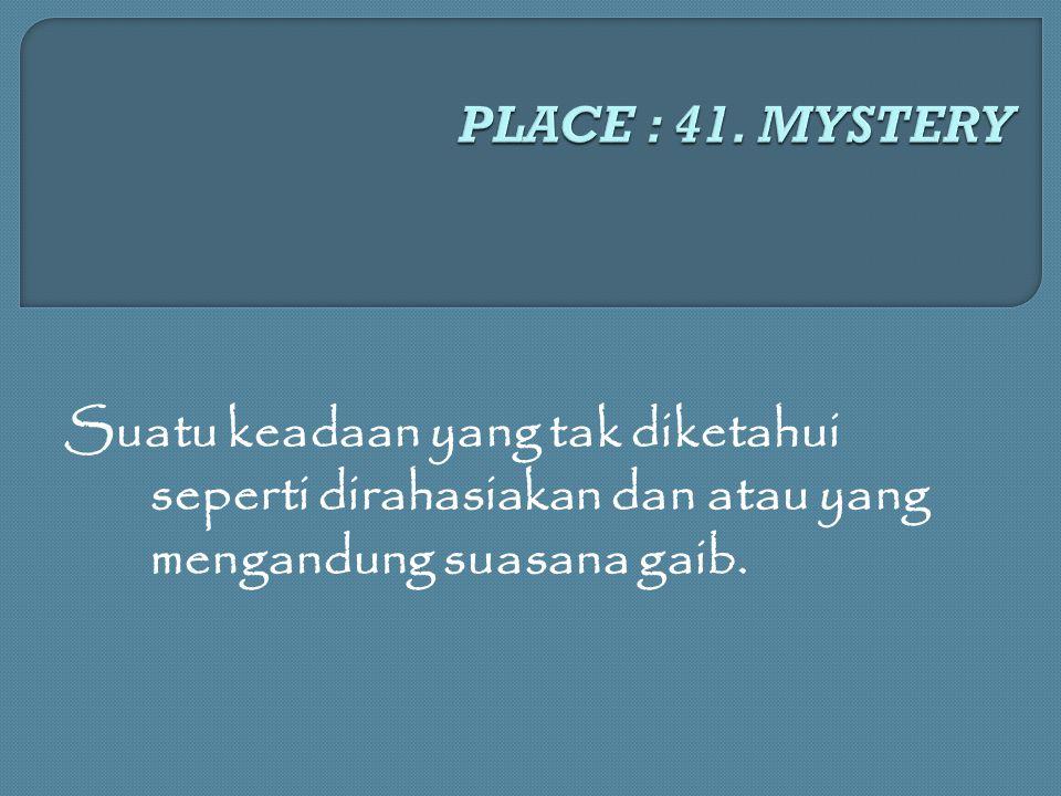 PLACE : 41.