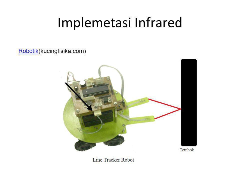 Implemetasi Infrared Robotik(kucingfisika.com)