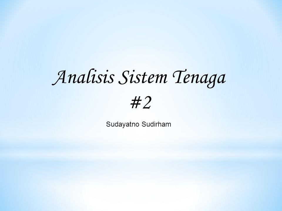 Analisis Sistem Tenaga