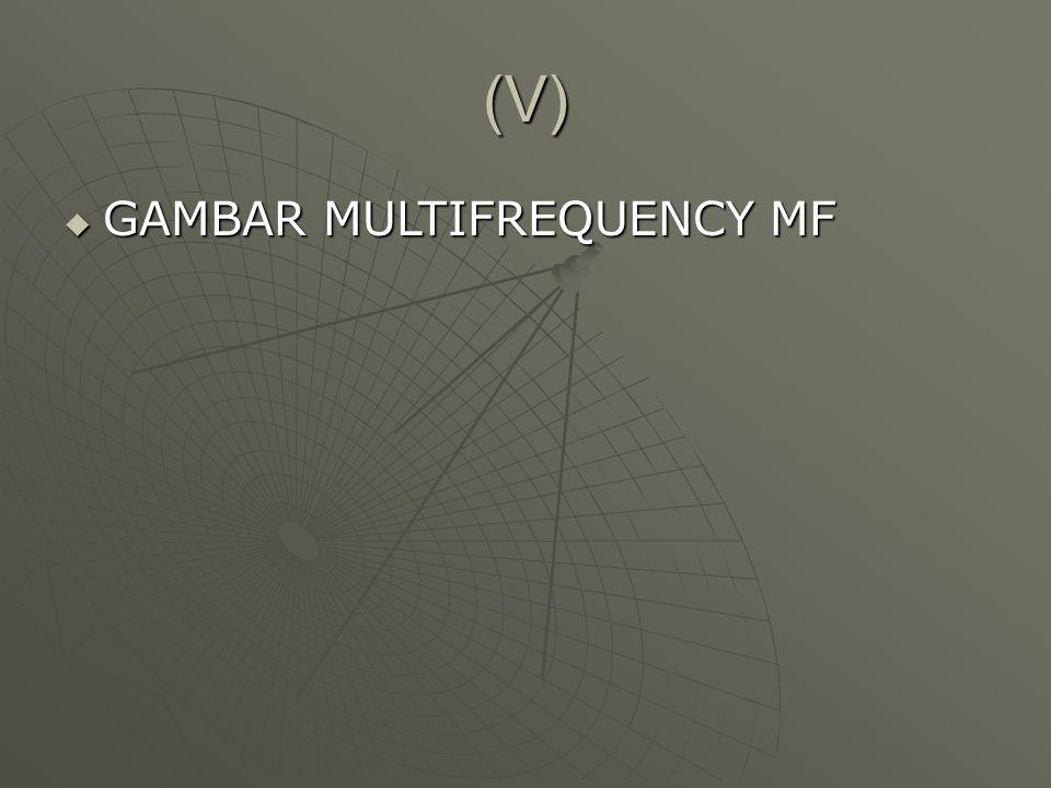 (V) GAMBAR MULTIFREQUENCY MF